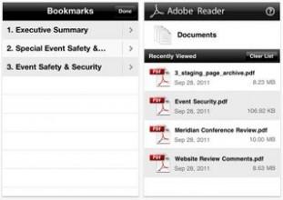 Adobe、iOSデバイス向けpdfリーダー「Adobe Reader」リリース