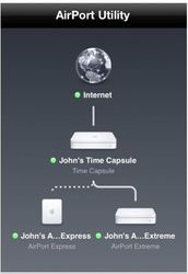 Apple、iOSデバイス向けに「AirMacユーティリティ」リリース