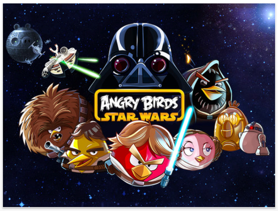 Rovio、Angry Birdsシリーズの最新作「Angry Birds Star Wars」リリース