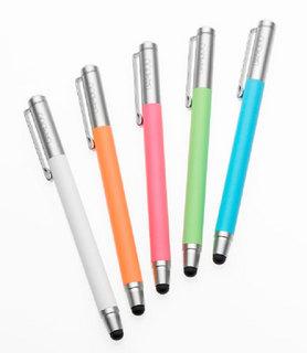ワコム、「Bamboo Stylus」に新色5色を追加