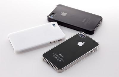 トリニティが、Simplism製「iPhone 4S用クリスタルハードカバーセット」を発売