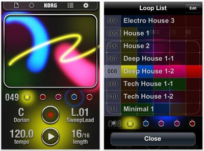 KORG、iPhone/iPod touchアプリ「iKaossilator」リリース