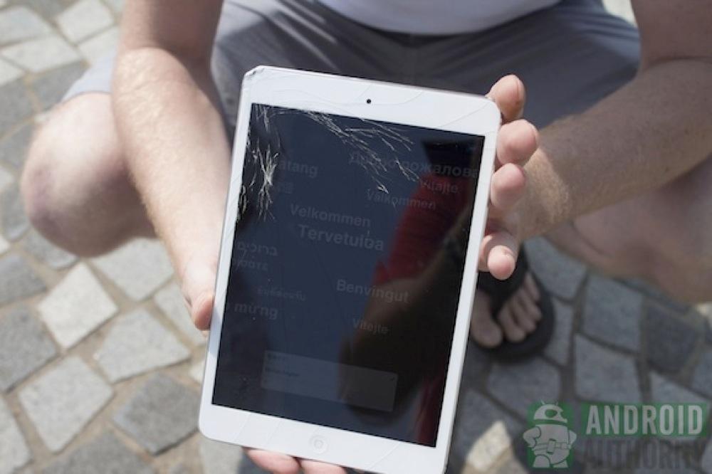 Ipad mini cracked