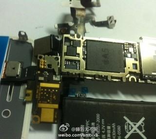 新iPhoneと見られる、A5チップが組み込まれたロジックボードの写真!?