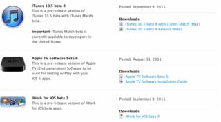 Appleがデベロッパー向けにiTunes10.5 beta8をリリース