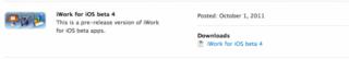 デベロッパー向けに「iWork for iOS beta4」リリース