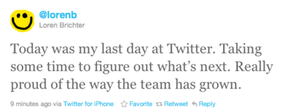 Mac、iOS向け公式Twitterアプリ開発者がTwitterを退社