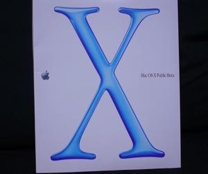 懐かしの「Mac OS X Public Beta」