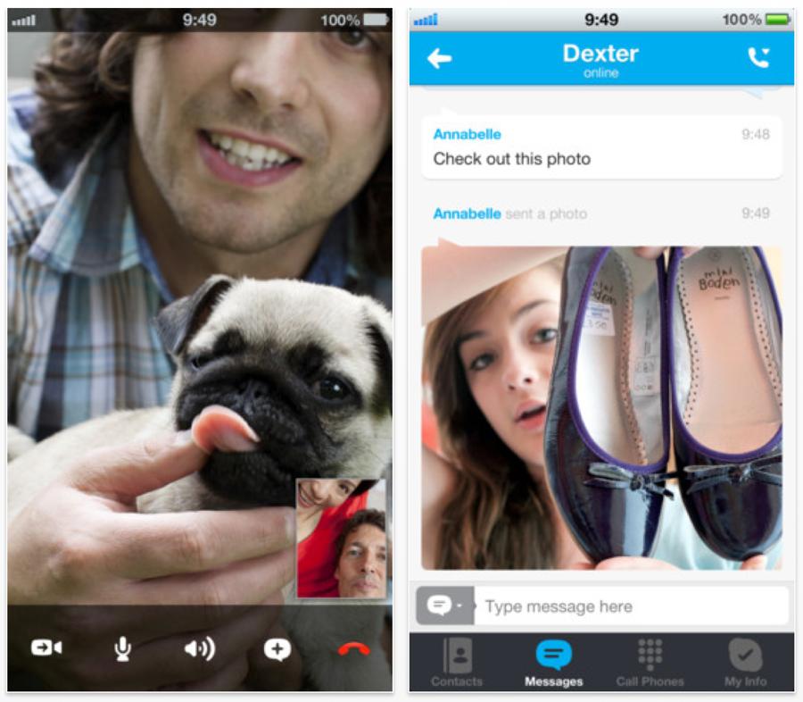 Skype、「iPhone 5」のディスプレイに対応した「Skype 4.1.2」リリース