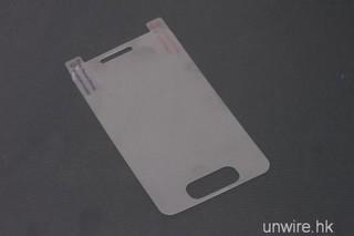 細長いホームボタンのiPhone 5のスクリーンプロテクター!?