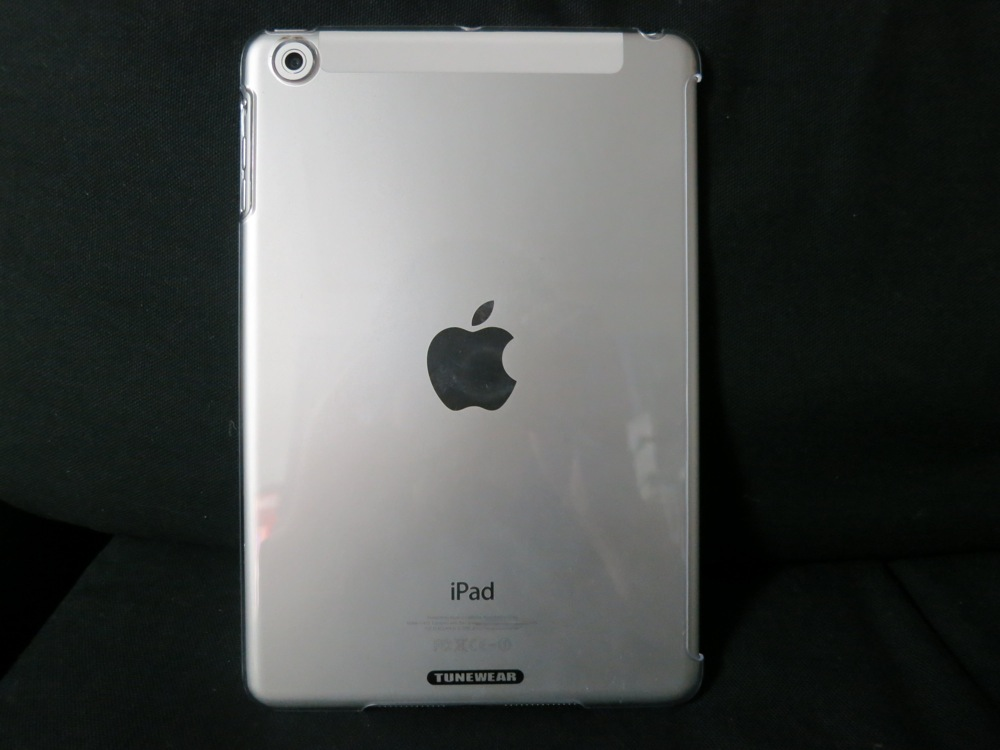【レビュー】iPad miniケース「TUNEWEAR eggshell for iPad mini fits Smart Cover」を試してみる