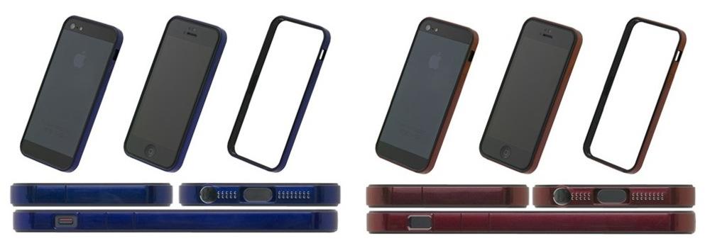 パワーサポート、「フラットバンパーセット for iPhone 5」に2つの新色を追加