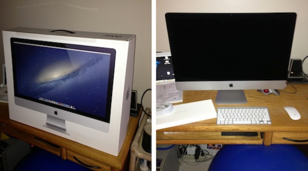 Imac 27 2012 delivered