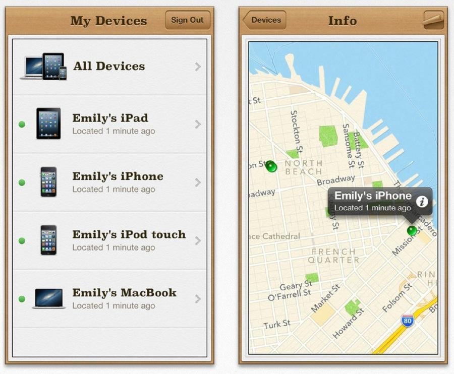 Apple、デバイスまでの経路案内機能を追加した「iPhoneを探す 2.0.1」リリース