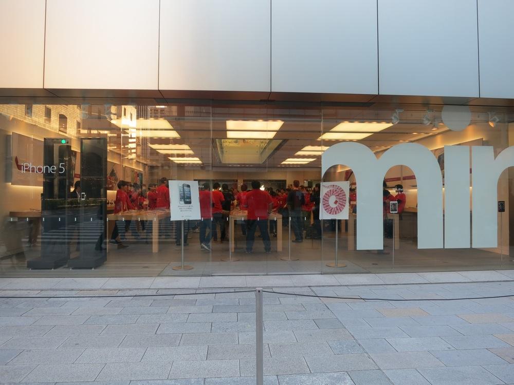 2013年「Apple Store Ginza」初売りレポート
