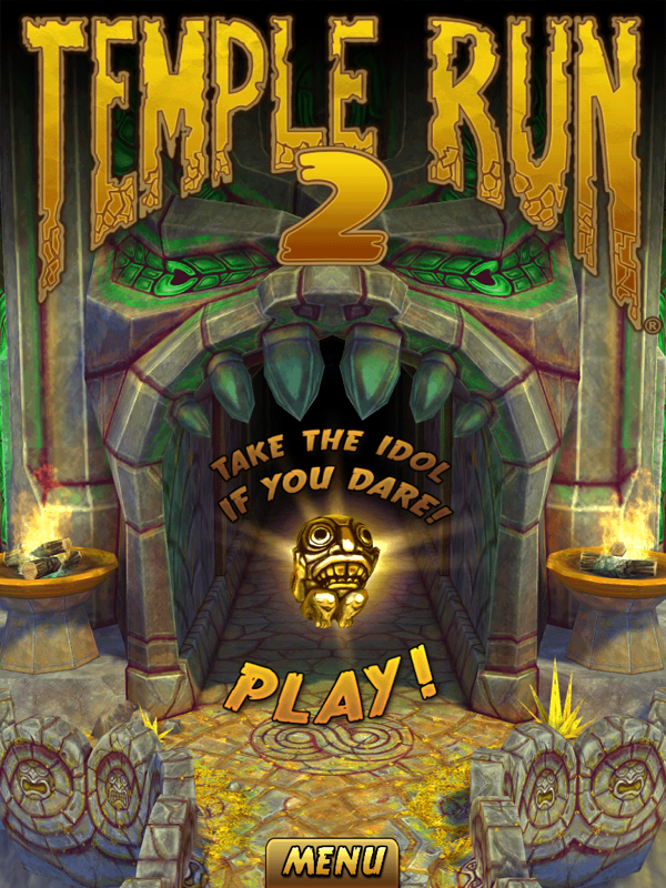 人気ランニングアクションゲーム「Temple Run 2」を試してみた