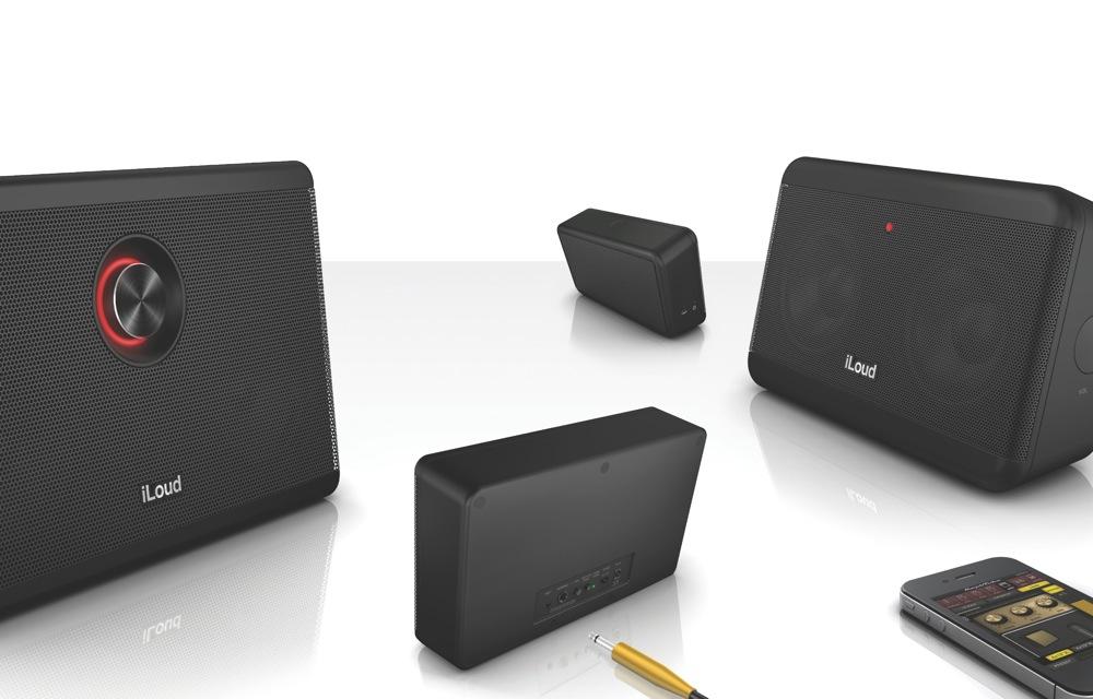 IK Multimedia、ポータブル・ステレオ・モニター「iLoud」「iLoud MINI」を発表