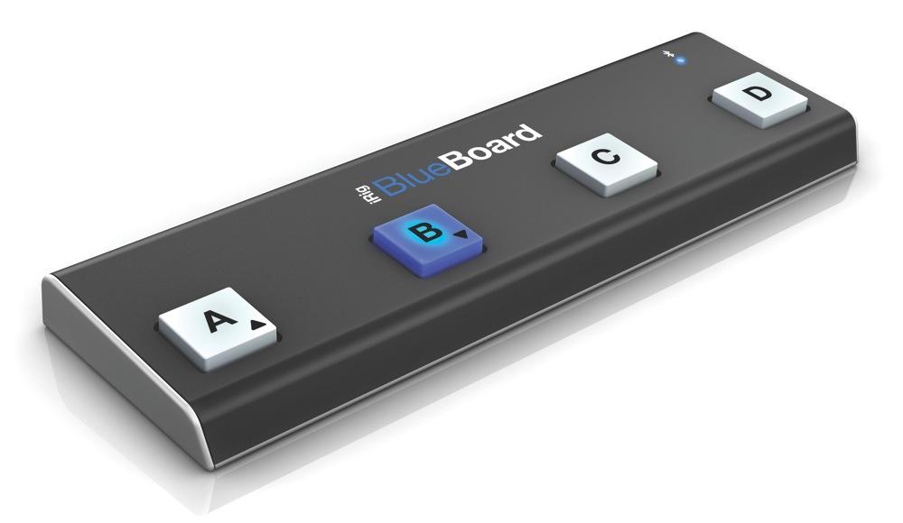 IK Multimedia、音楽アプリをワイヤレスでコントロールできるワイヤレスMIDIペダル・ボード「iRig BlueBoard」を発表