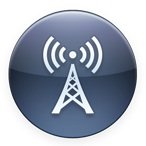 Itunes radio round icon