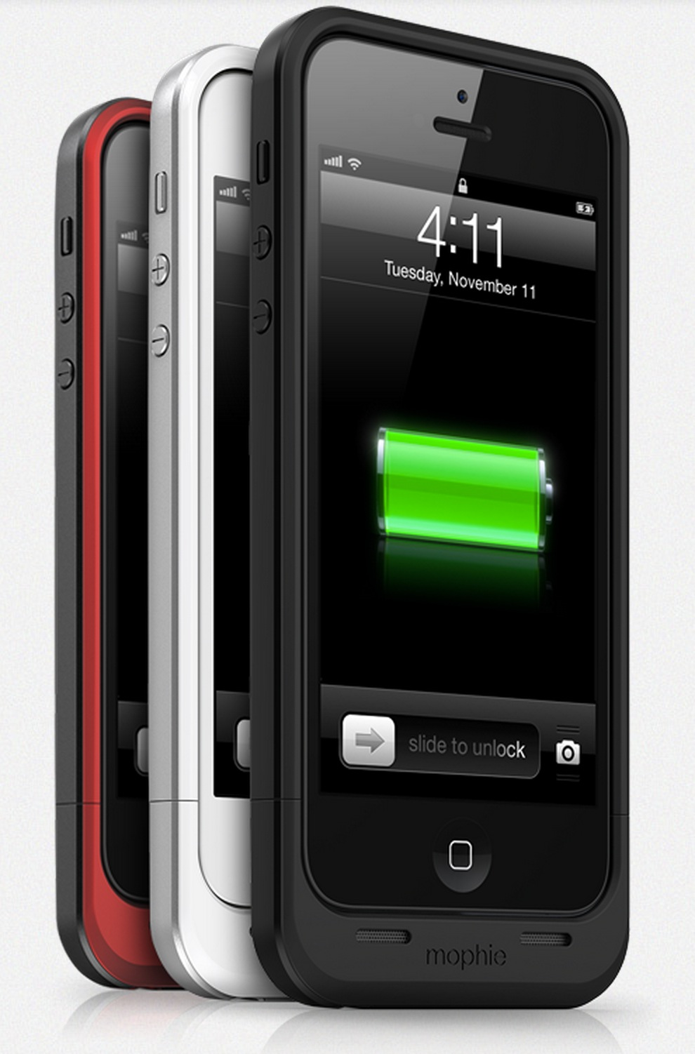 mophie、iPhone 5用バッテリー内蔵ケース「mophie juice pack Air for iPhone 5」発表