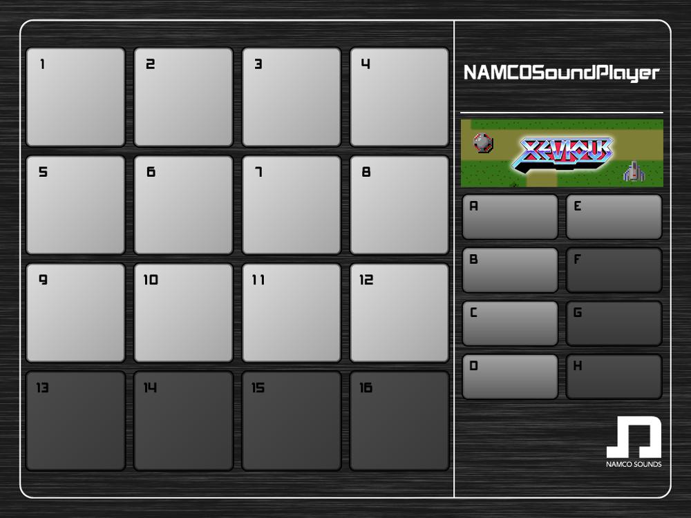ナムコの歴代ゲームのサウンドが楽しめるiOSアプリ「NAMCO Sound Player」を試してみた