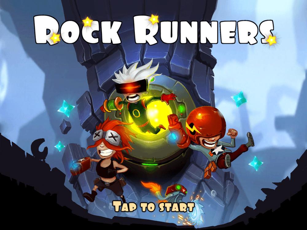 爽快ランニングアクション「Rock Runners」を試してみた