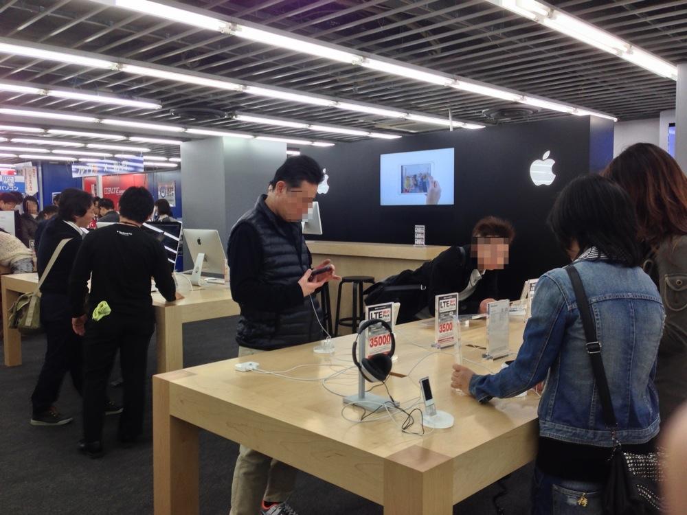 中部地区最大となったビックカメラ名古屋西店の「Appleショップ」に行ってきた