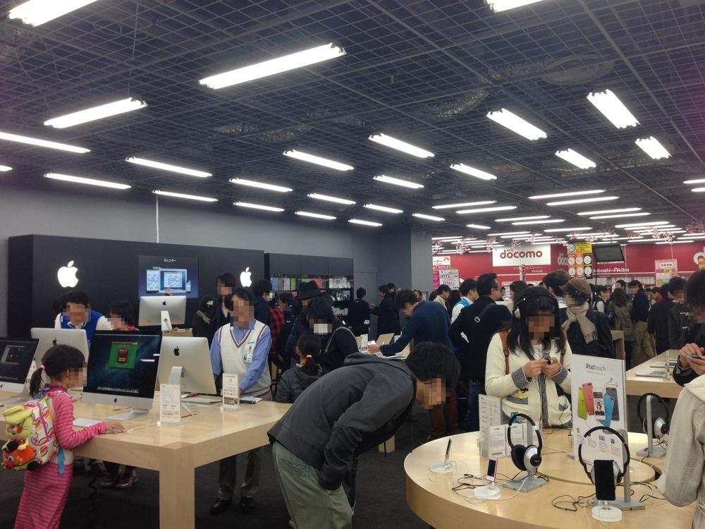 新たにオープンした「ヨドバシカメラ マルチメディアAkiba」の「Appleショップ」に行ってみた