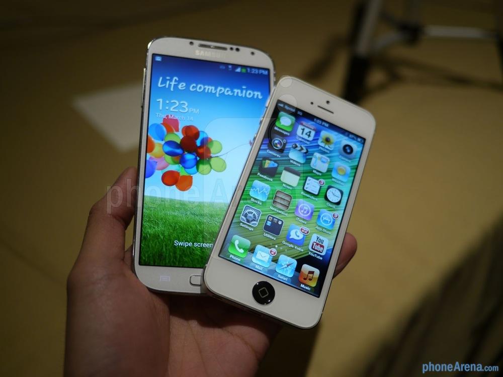 Samsung galaxy s 4 iphone 5 12