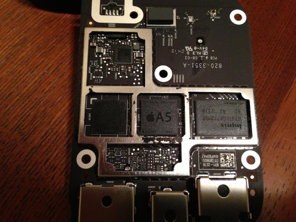 Apple、「Apple TV (第3世代)」のA5チップを小型化して出荷