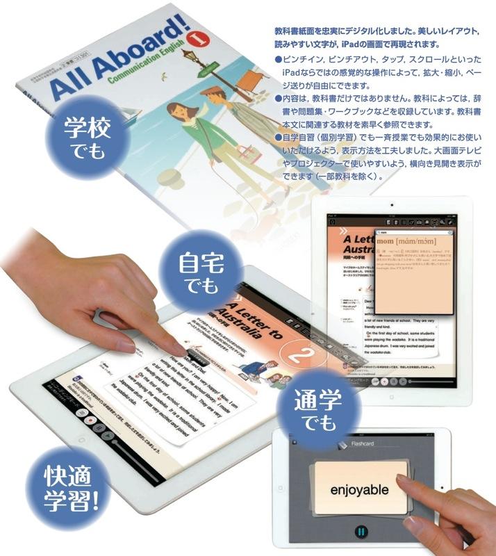 東京書籍、iPad用平成25年度の高校向けデジタル教科書をリリース