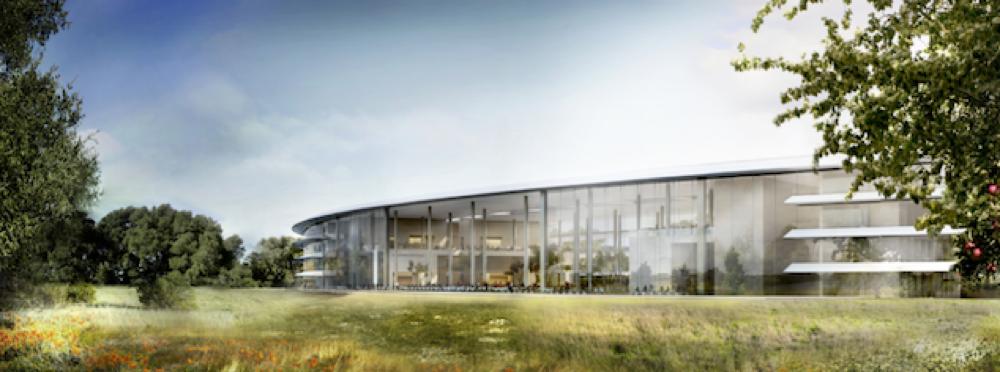 Apple spaceship campus rendering 003