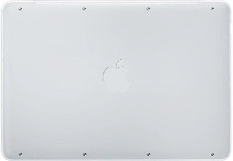 Macbook rubber bottom case