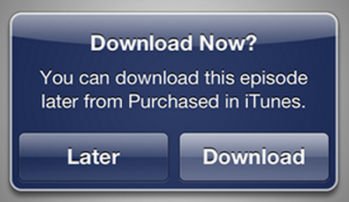 Download later itunes in the cloud movies