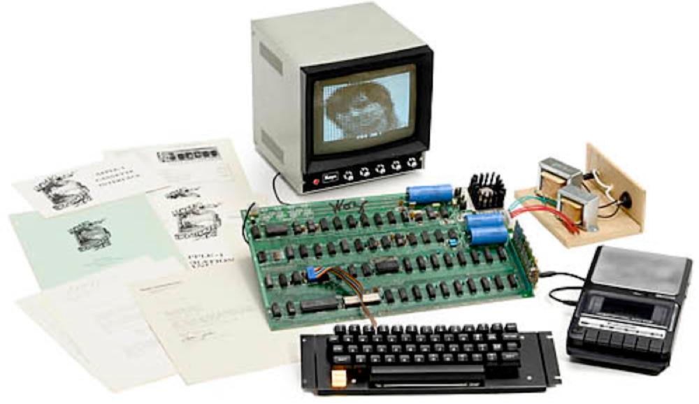 オークションに出品されていた完動品の「Apple I」、671,400ドルで落札される