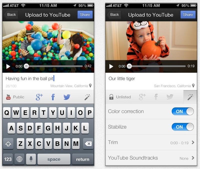 Google、高解像度プレビューやWi-Fi接続時のみのアップロードに対応したiOSアプリ「YouTube Capture 1.3」リリース