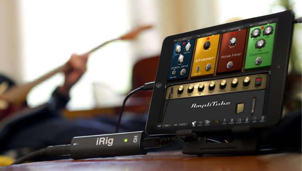 PR iRigHD iPad