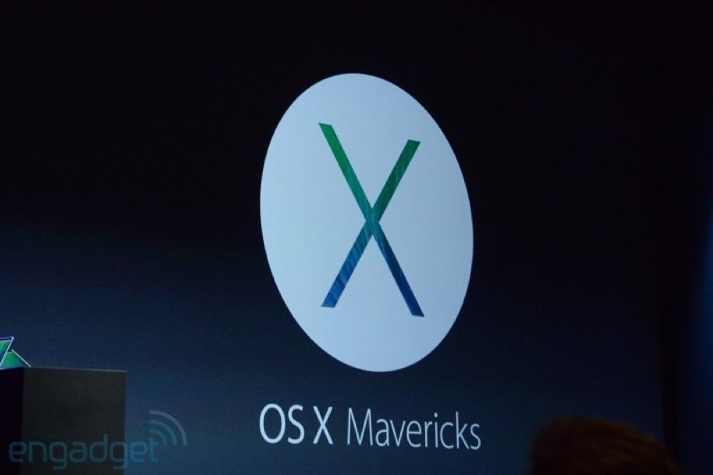 Apple、新しいMac向け次期OS「OS X Mavericks」を発表