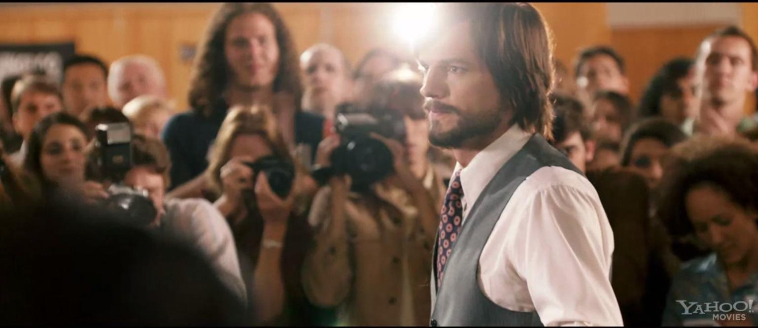 Ashton Kutcher氏がSteve Jobsを演じる映画「JOBS」のトレーラーが公開