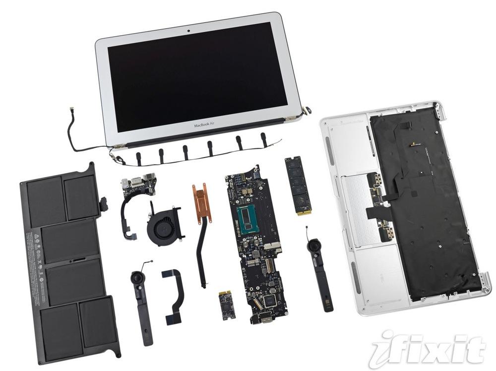 iFixit、11インチ「MacBook Air (mid 2013)」のバラシレポートを公開