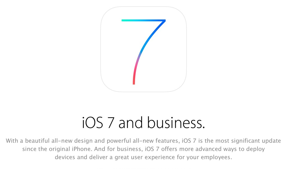 Ios7business