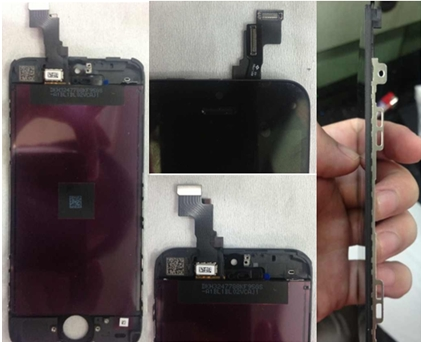 Iphone 5s display assembly