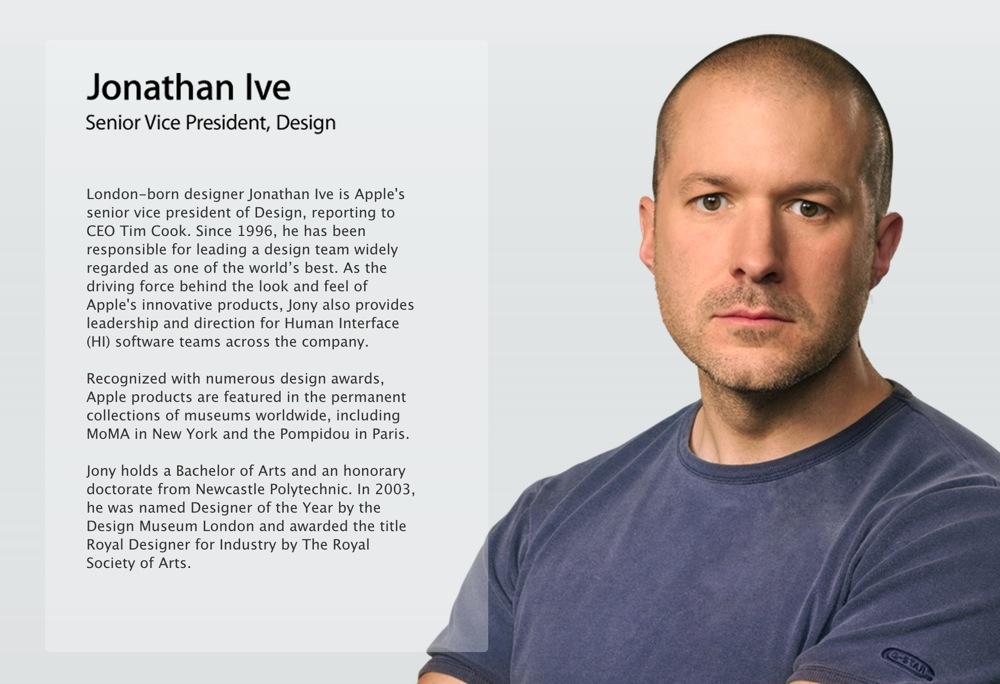 Jonathan Ive氏が役員リストから一時消えていたのは「技術的な問題」
