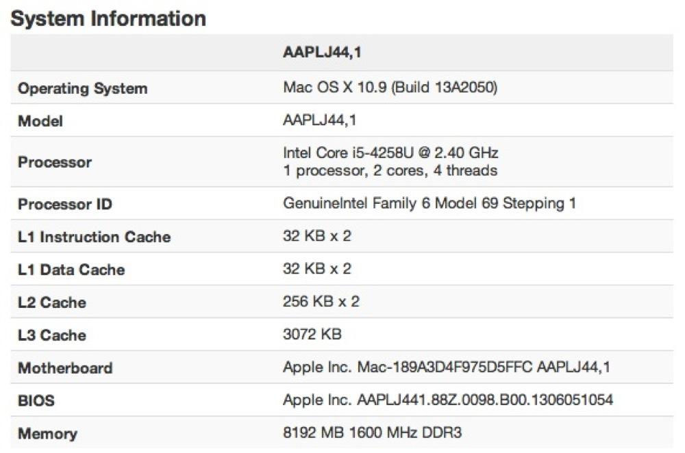 次期13インチ「MacBook Pro」と思われるベンチマークスコアが登場!?