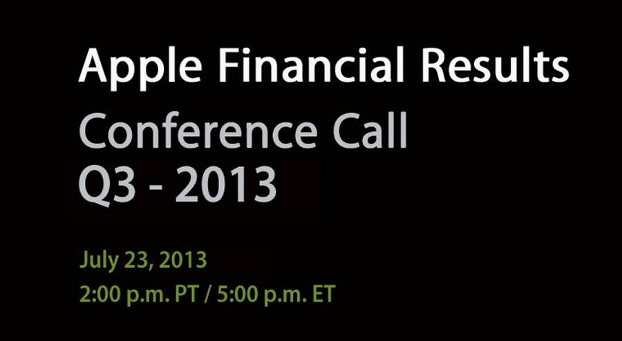 Apple、2013年第3四半期の決算発表を7月23日に行うと発表