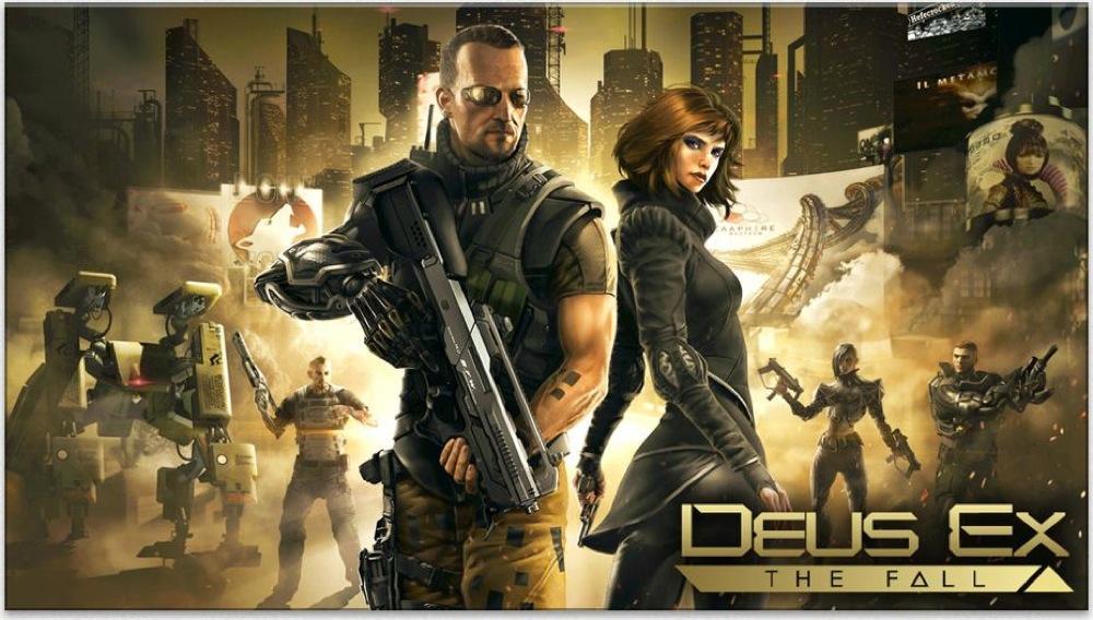 スクウェア・エニックス、iOS向け「Deus Ex: The Fall」リリース