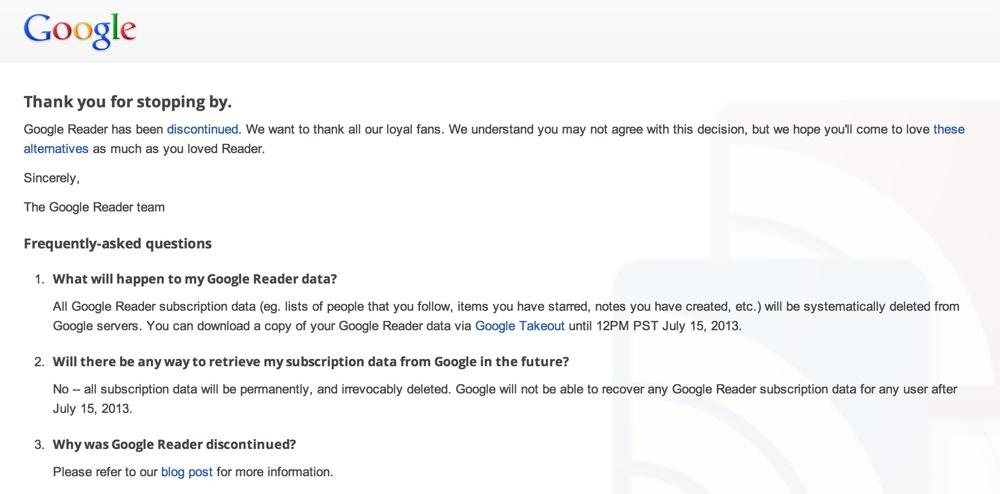 Googlereaderfinish