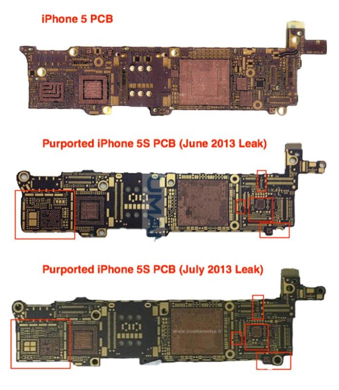 IPhone 5S PCB