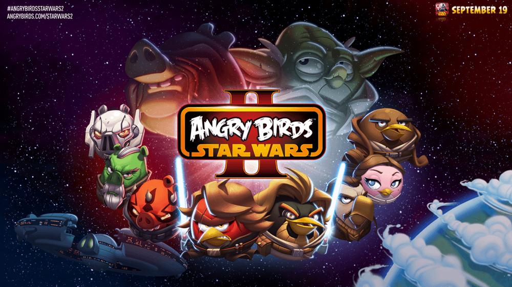 Rovio、9月19日に「Angry Birds STAR WARS II」をリリースすると発表