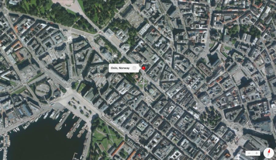 ノルウェー政府、オスロ上空での「Flyover」用の撮影を拒否